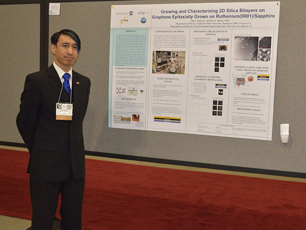 Jeff Guevara at SACNAS