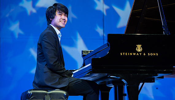 Pianist Sean Chen Captivates Audience During Steinway by Starlight Concert